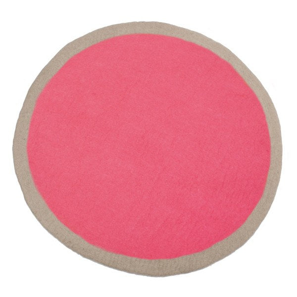 Muskhane Circle Rug Pink -  - mondocherry - home : style : design - 2