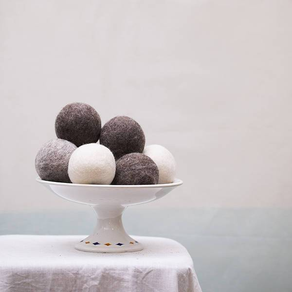 felt ball - Muskhane | felt balls | quartz rose - mondocherry