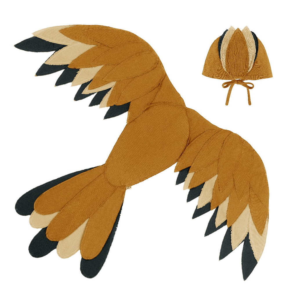 Numero74 | phoenix bird wings | gold