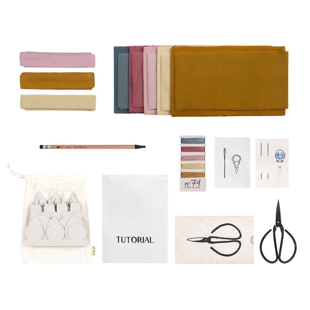 Numero74 | organic cotton flower kit | autumn