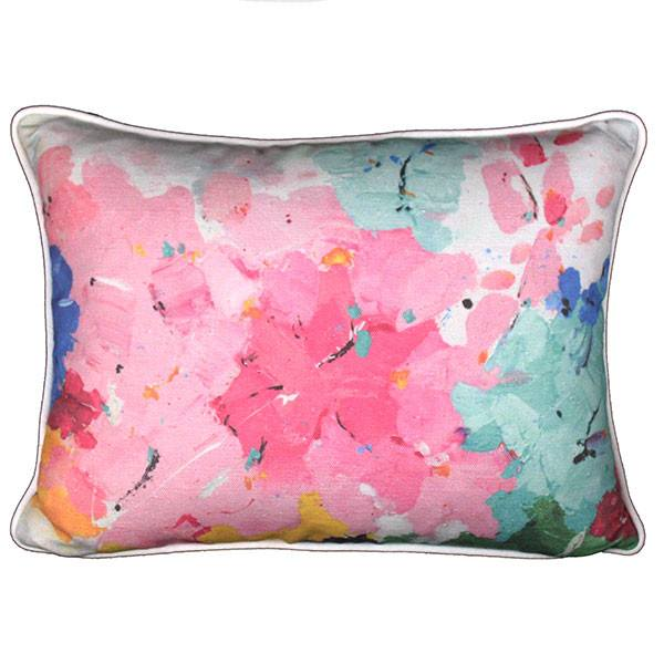 """painterly two"" cushion - cushion - mondocherry - home : style : design"