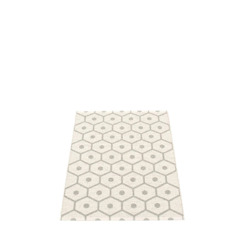 pappelina | honey mat | warm grey - 70cm x 100cm - back