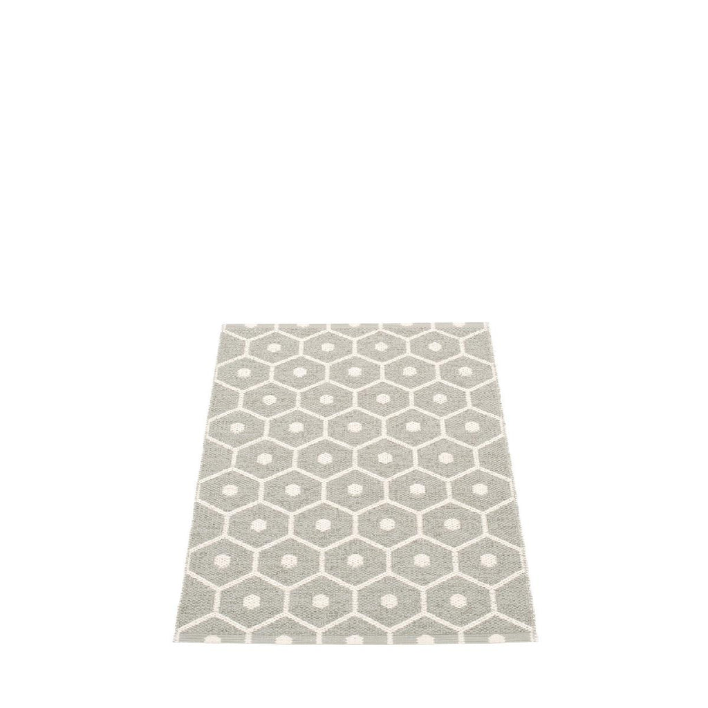 pappelina | honey mat | warm grey - 70cm x 100cm