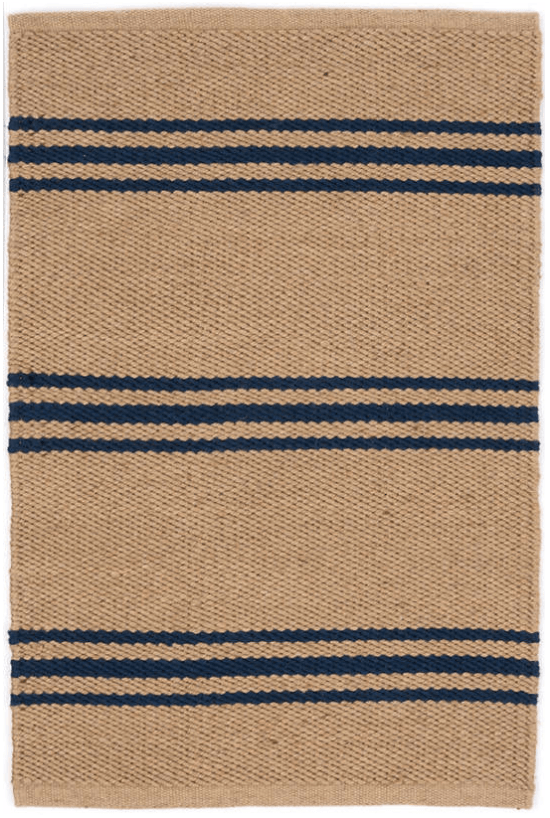 Muskhane | indreni rainbow rug | light stone