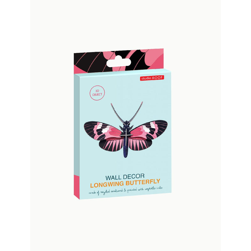 Studio Roof | longwing butterfly wall decor - package
