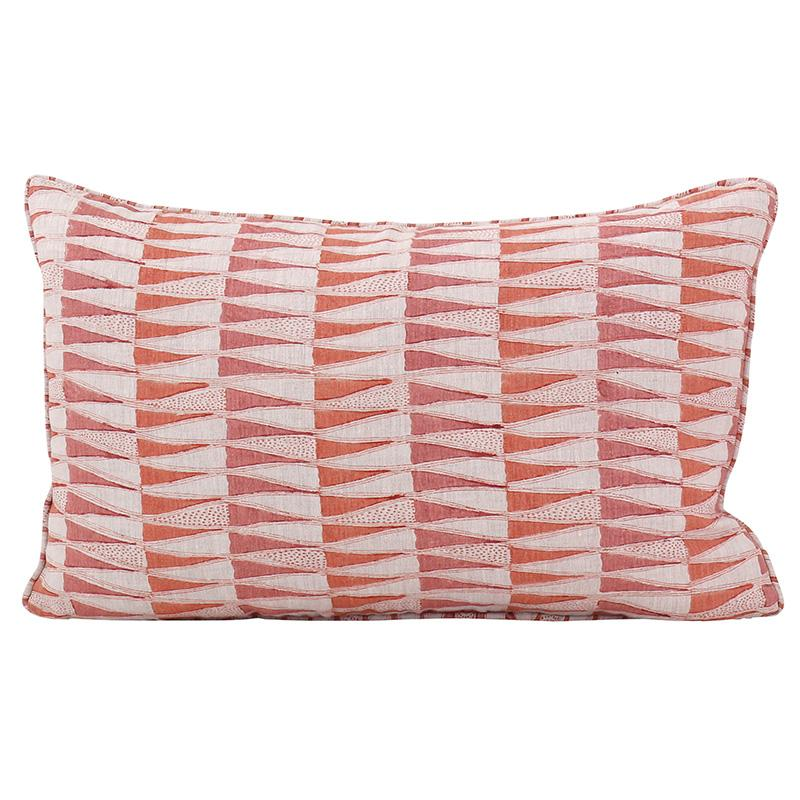 Walter G | jali cushion | guava