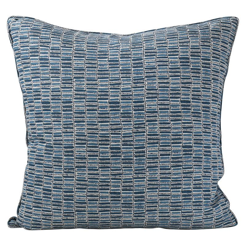 cushion - Walter G | thebes cushion | denim - mondocherry
