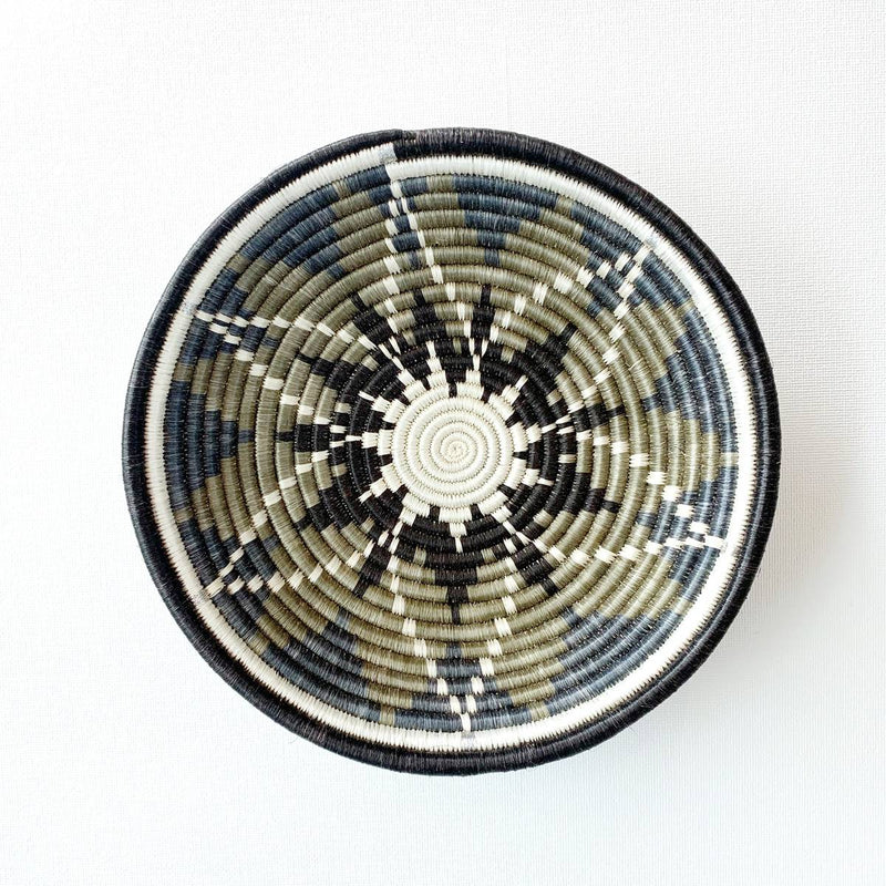 """Tumaini"" African woven bowl #2 