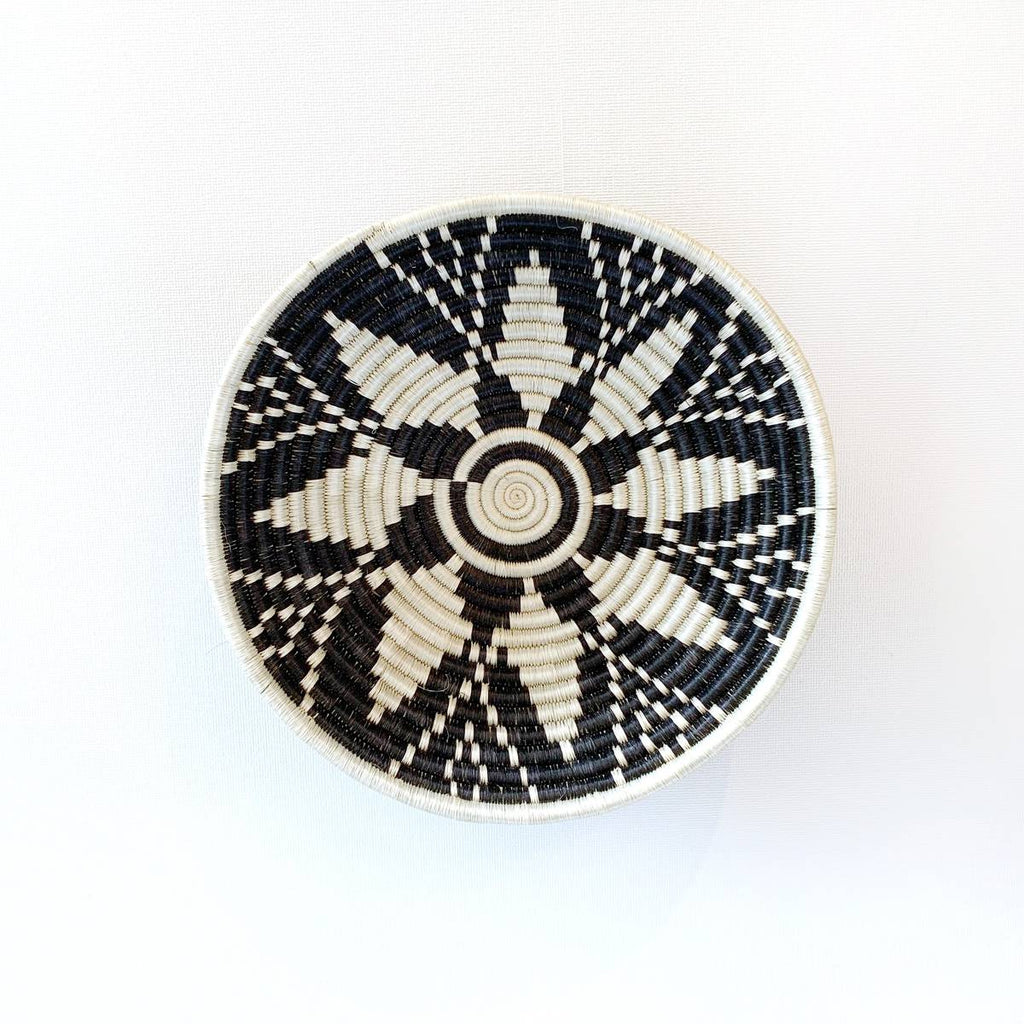 """Usiku"" African woven bowl #2 