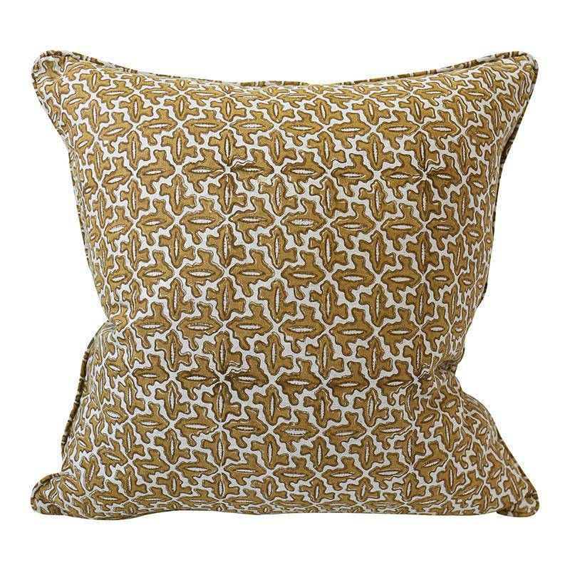 Walter G cushion - aries saffron