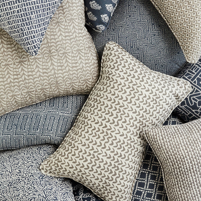 Walter G | nullabor linen cushion | mud - collection