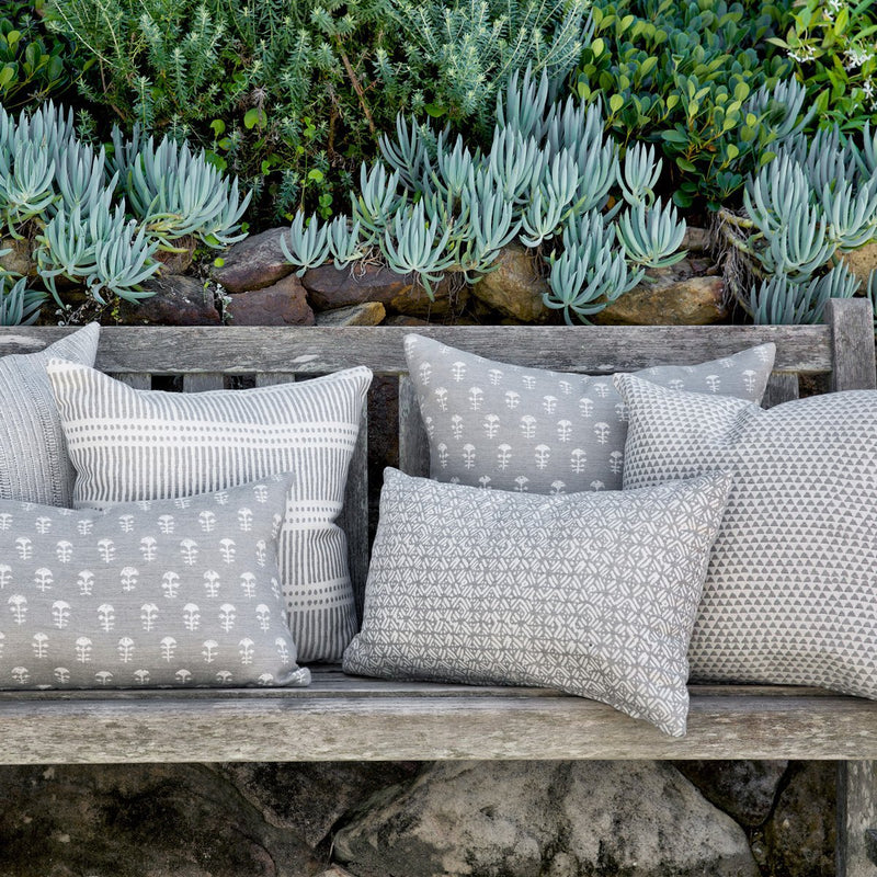 Walter G | batik outdoor cushion | albatross - collection
