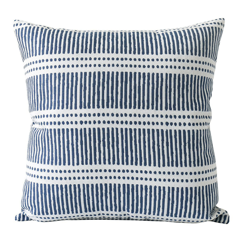 Walter G | dash dot outdoor cushion | atlantic