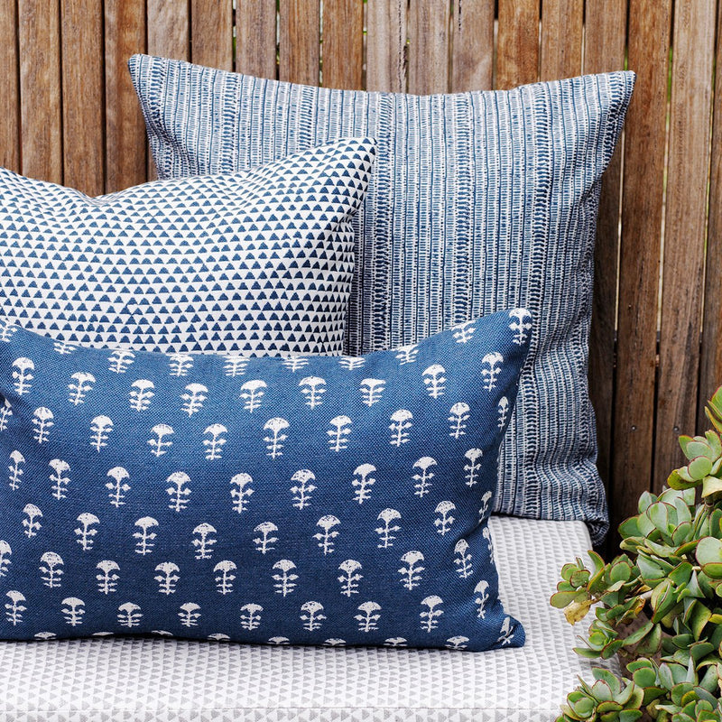 Walter G | saqqara outdoor cushion | atlantic - mix