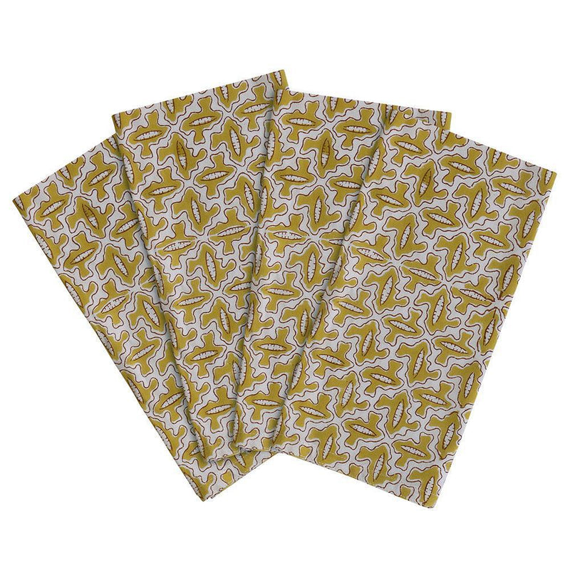 Walter G | arles cotton napkins | pista (set of 4)