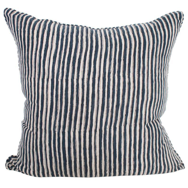 Walter G | thebes cushion | denim