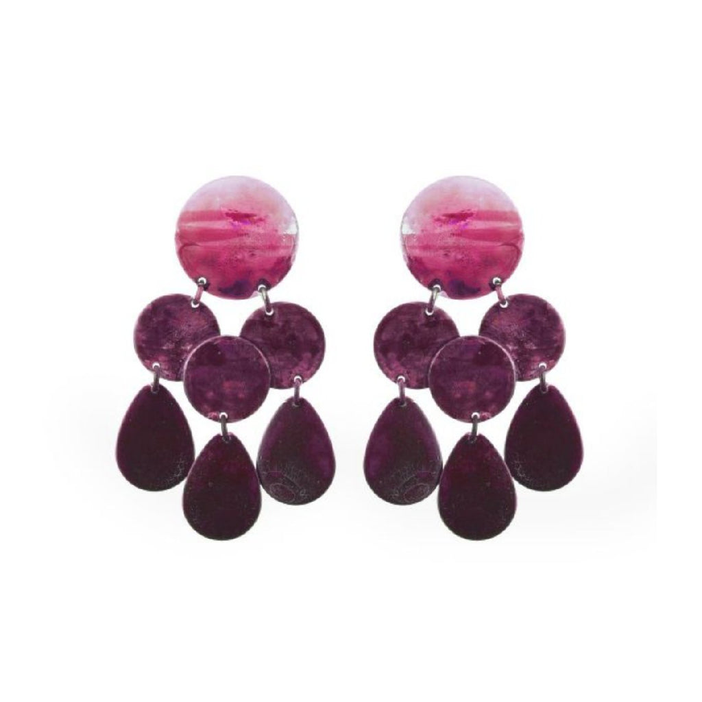 We Dream in Colour jewellery | amilia earrings | pink