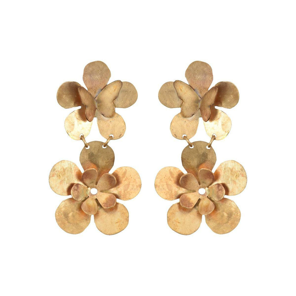 We Dream in Colour jewellery | petite butterfly garden earrings