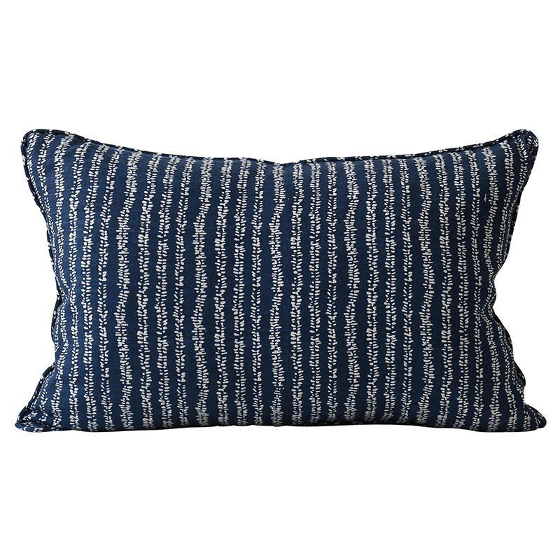 cushion - Walter G | yoko cushion | indigo - mondocherry