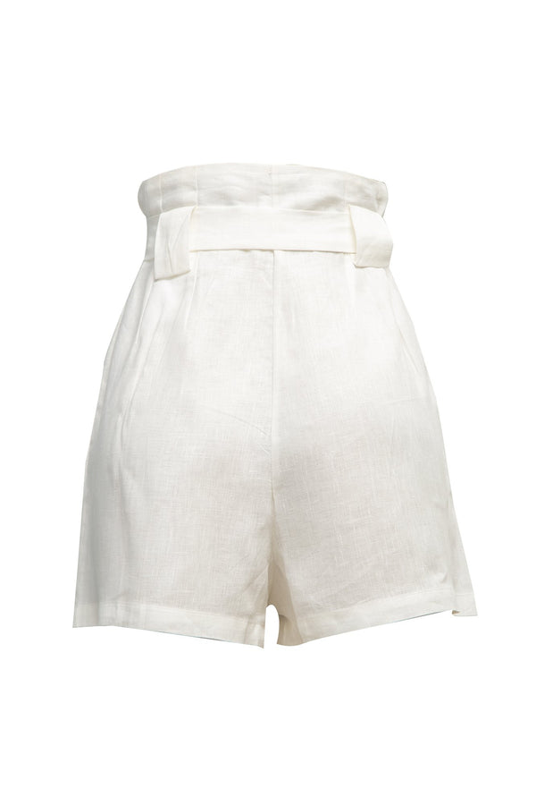 Short Herbe Blanco