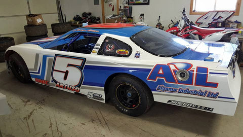 Speed Media Race Wraps Wrap Kit #003