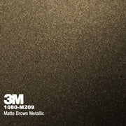 3M 1080 Wrap Matte Brown Metallic Color Change Wrap Vinyl