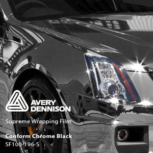 Avery Chrome Black Color Change Wrap Vinyl