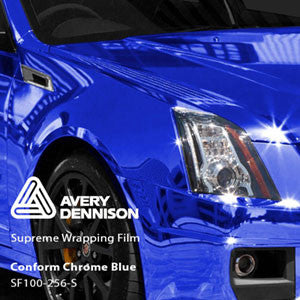 Avery Chrome Blue Color Change Wrap Vinyl