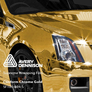 Avery Chrome Gold Color Change Wrap Vinyl
