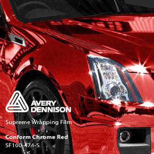 Avery Chrome Red Color Change Wrap Vinyl