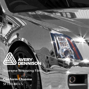 Avery Chrome Silver Color Change Wrap Vinyl