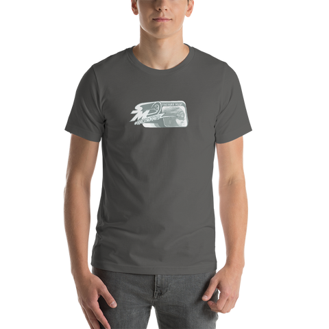 Speed Media Factory Pilot Fade out Short-Sleeve Unisex T-Shirt