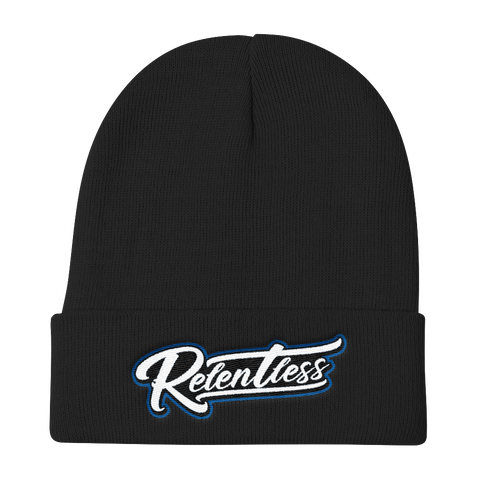 Relentless script Knit Beanie
