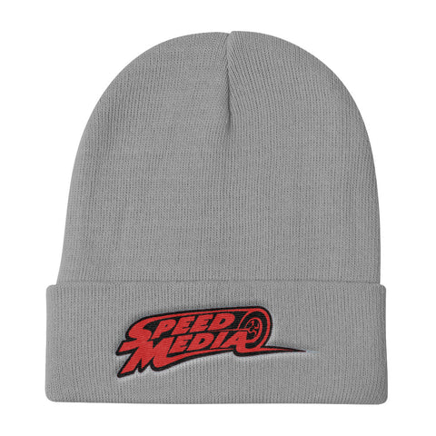 Speedy Racer Speed Media Knit Beanie