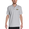 Boven Electric Left Chest logo Embroidered Polo Shirt