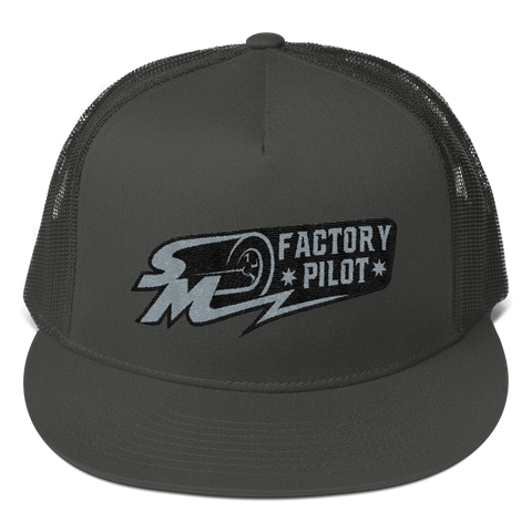 Speed Media Factory Pilot Mesh Back Snapback