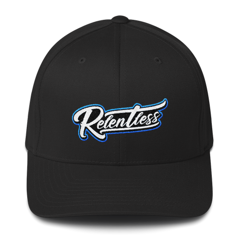 Relentless FlexFit script Structured Twill Cap