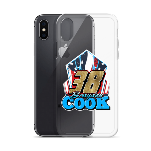 Brayden Cook iPhone Case (Design #2)