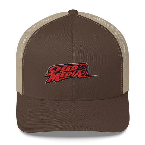 Speed Media Logo Retro Trucker Cap