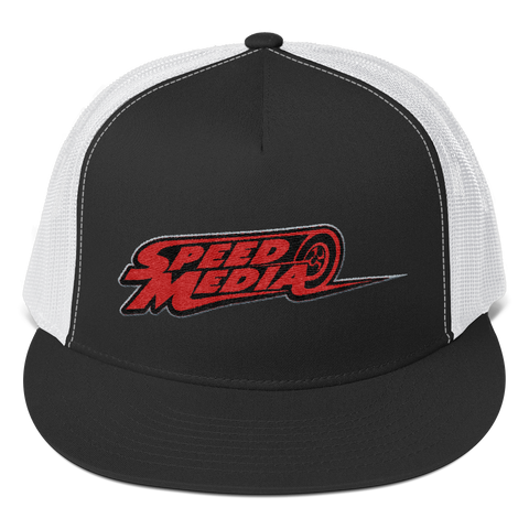 Speed Media logo Trucker Cap