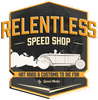 Relentless Speed Shop sticker