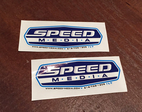 Speed Media Digitally Printed Full Color Stickers