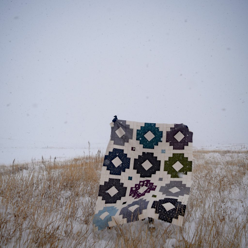 Solstice Lights Quilt Pattern - Testers Versions - Quilts in the Wild