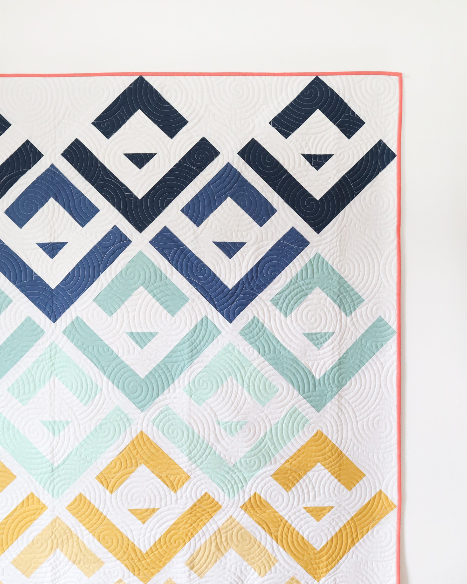 Cabin Valley quilt pattern by Cotton and Joy