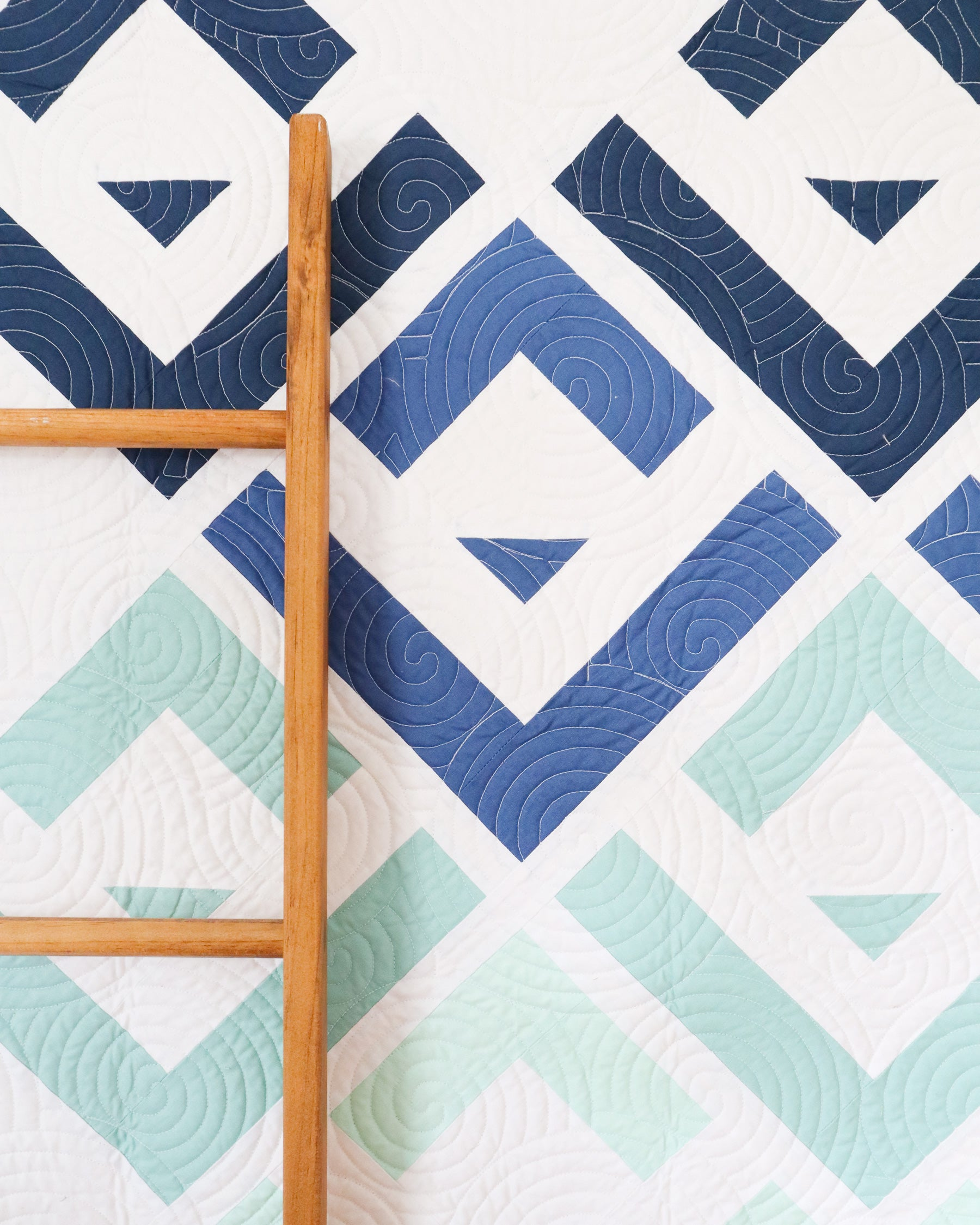 Cabin Valley quilt by Cotton and Joy