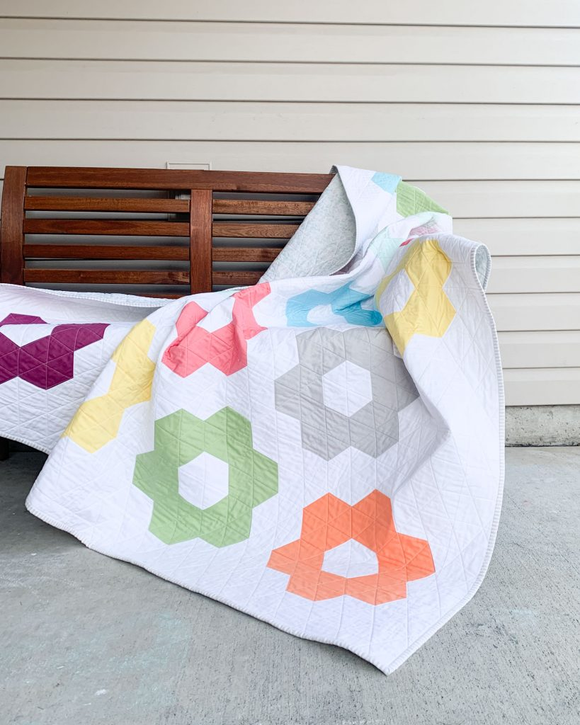 Hexie Blooms by Cotton and Joy
