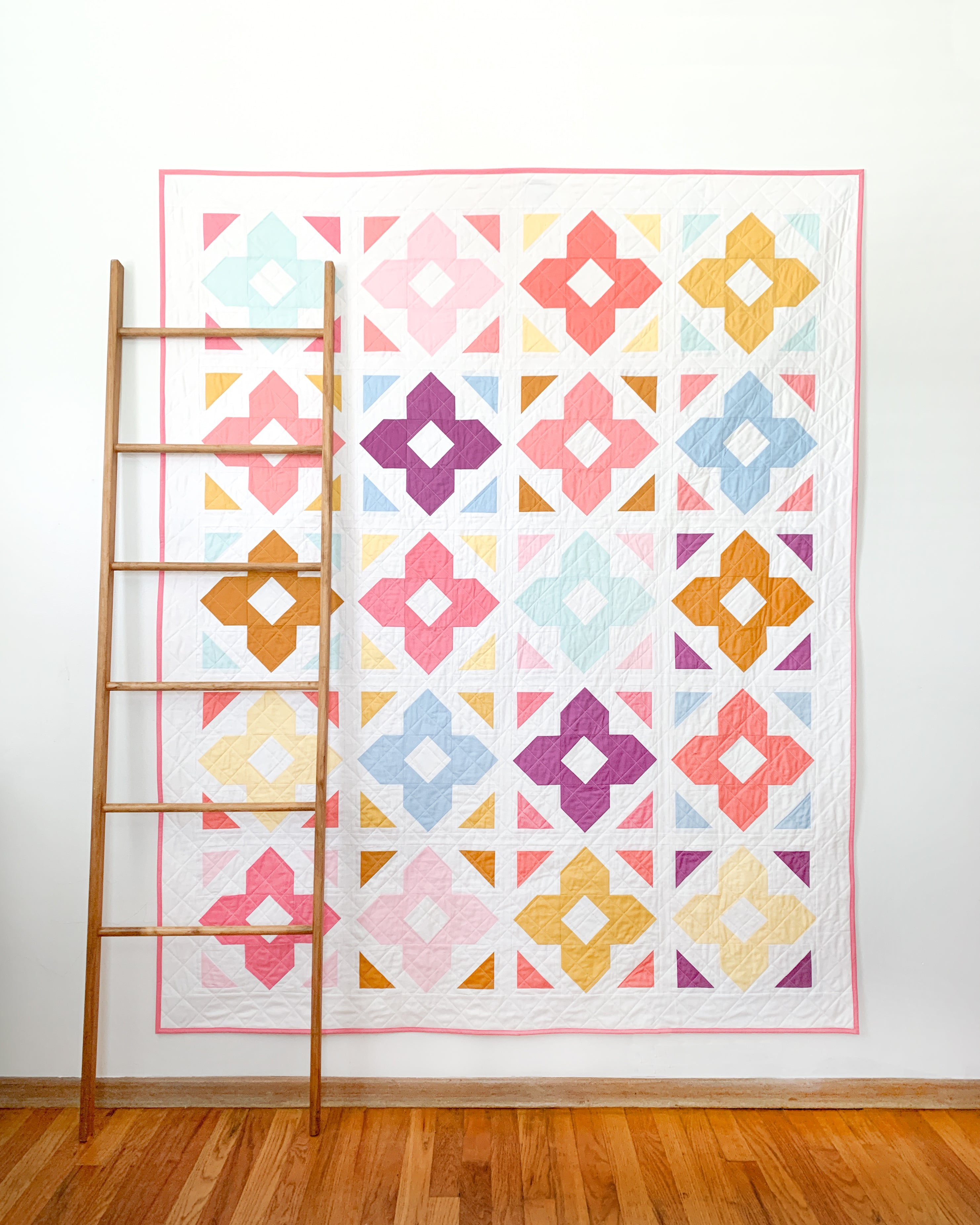 Luminaries Quilt in Confetti Cottons Solids