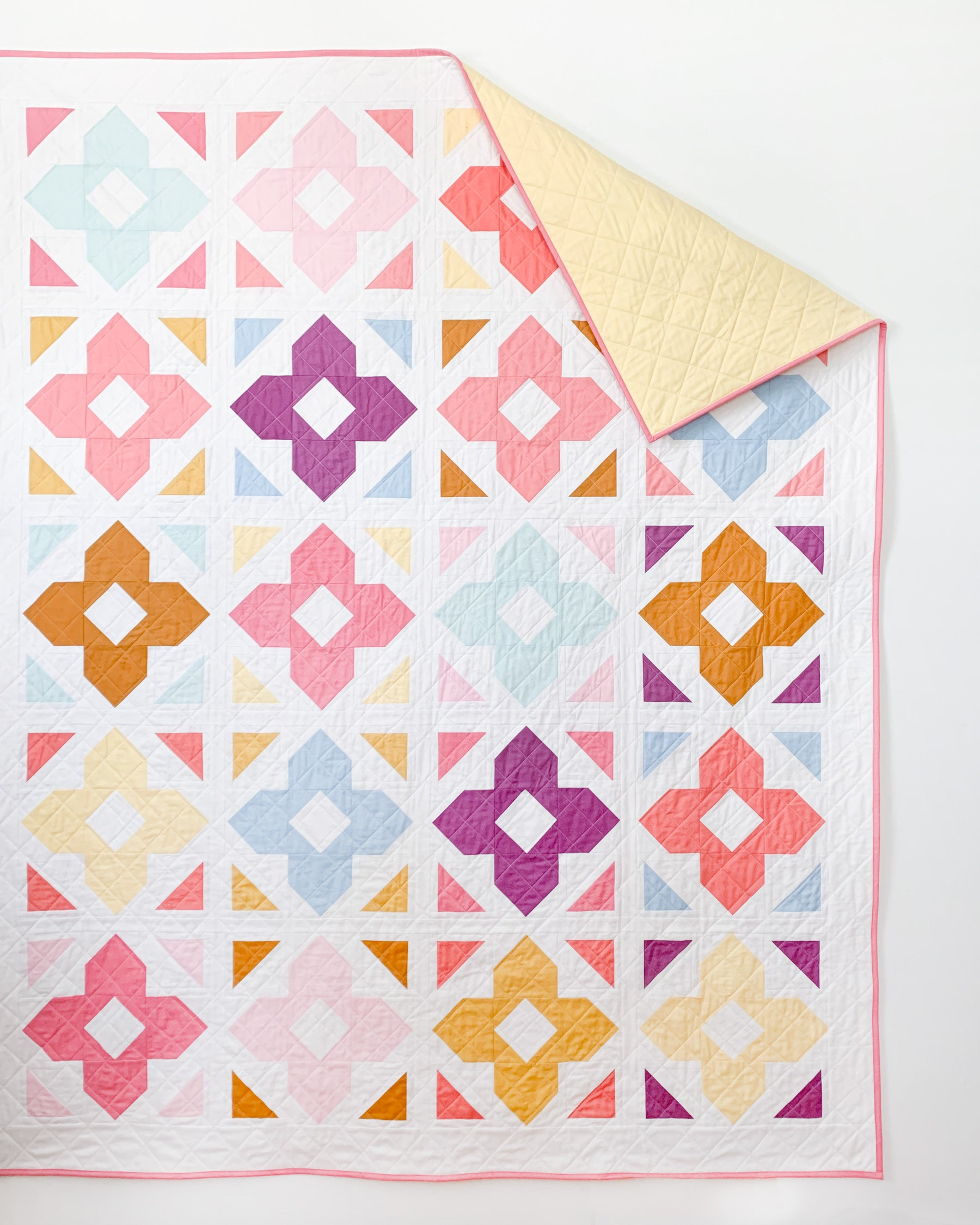 Quilt solid backing