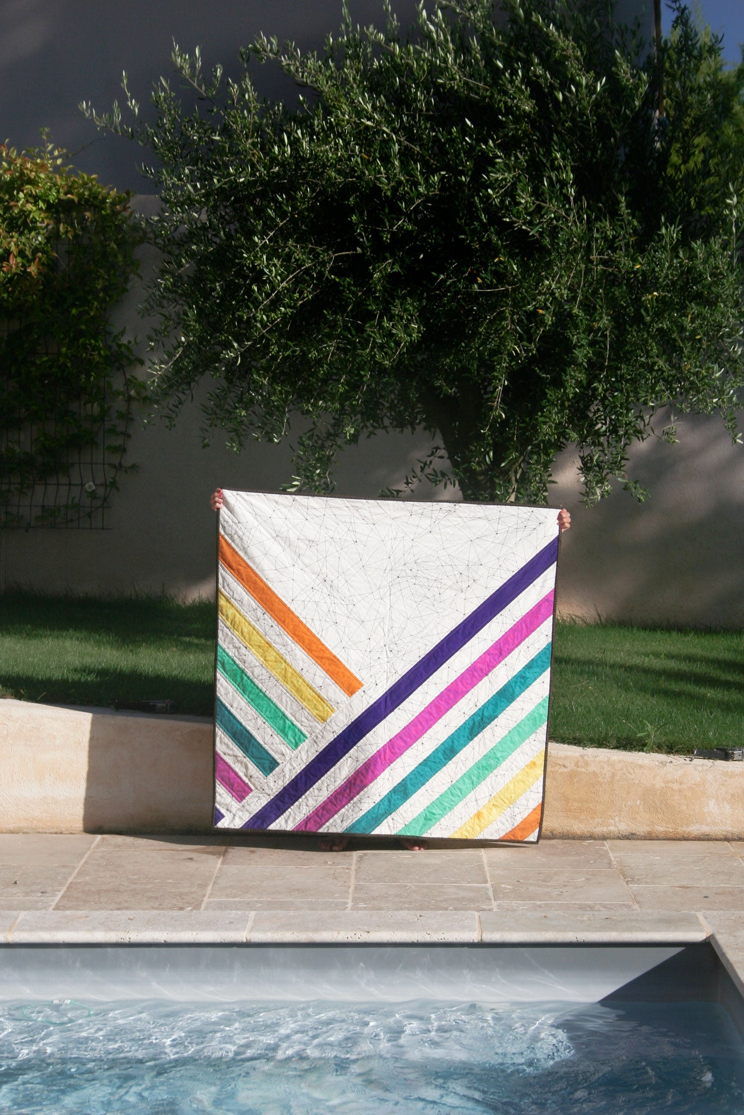 Quilt in the wild - Midpoint by Cotton and Joy