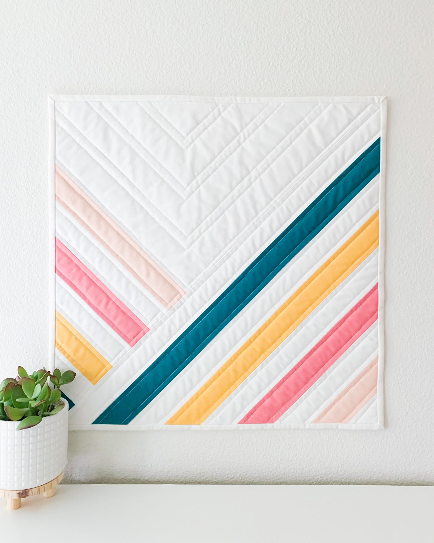 The original Midpoint - A Mini Quilt